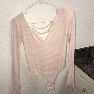 Small pink bodysuit